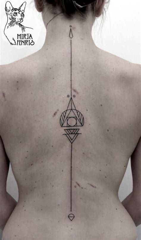 vertical tattoos the 25 best vertical back ideas on