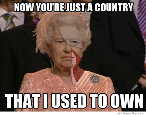 The Queen Meme - winter pays for summer july 2012