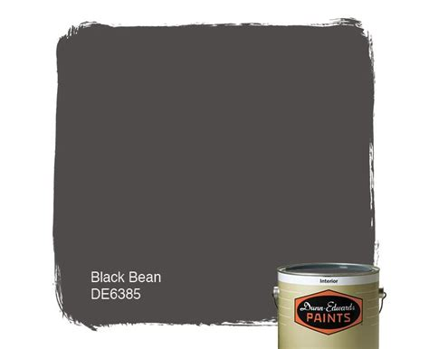 dunn edwards paints paint color black bean de6385 click for a free color sle dunn
