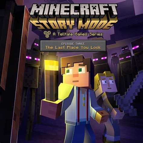 A Place Release Date Uk Minecraft Story Mode Episode 3 The Last Place You Look 2015 Playstation 3 Release Dates