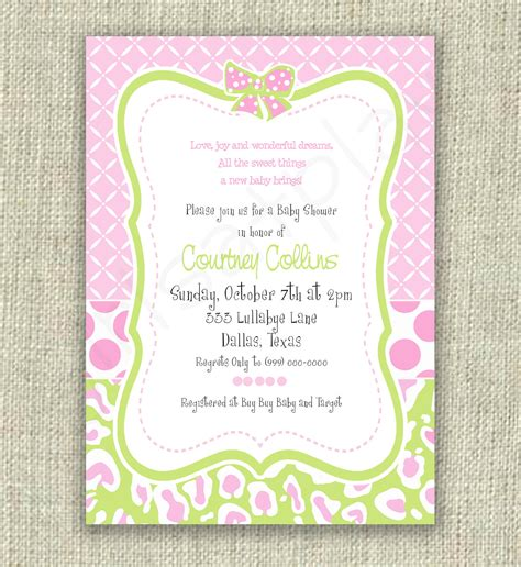 unisex thank you card template template baby shower invitation wording for a boy baby