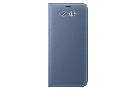 Samsung Galaxy Led samsung galaxy s8 led view wallet blue cell phones accessories