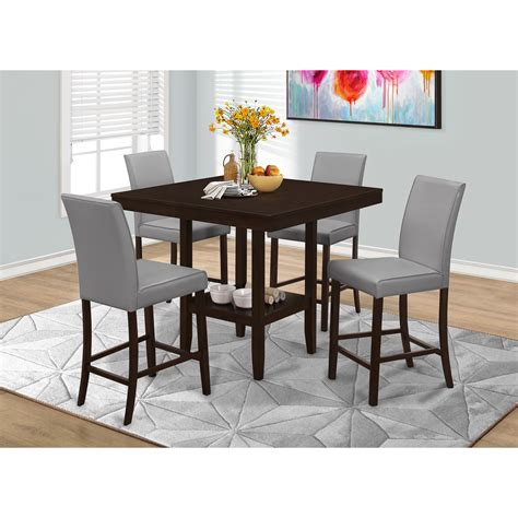 wayfair counter height table monarch specialties inc counter height dining table