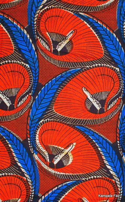 pattern african fabric red blue nice pinterest fabrics home decor and blue