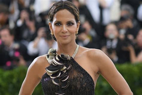 Halle Gets by Halle Berry Gets With Producer Alex Da Kid