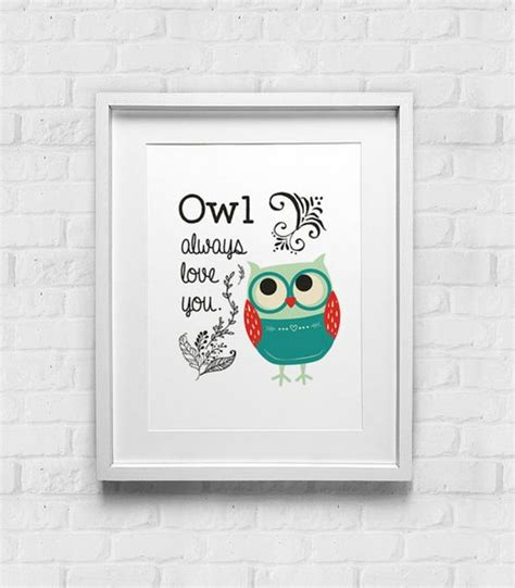 printable owl quotes holiday sale christmas owl art print instant download