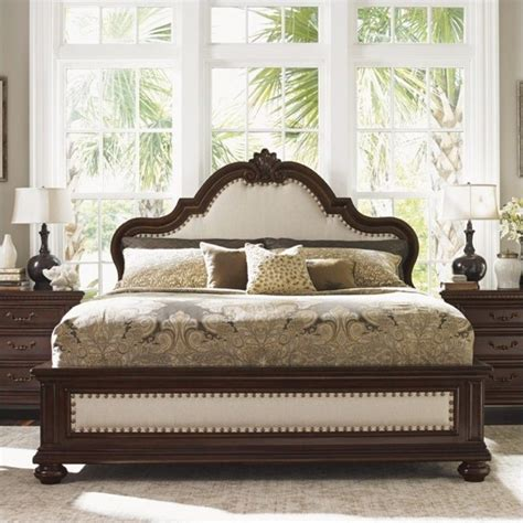 tommy bahama bed tommy bahama home kilimanjaro barcelona panel bed in