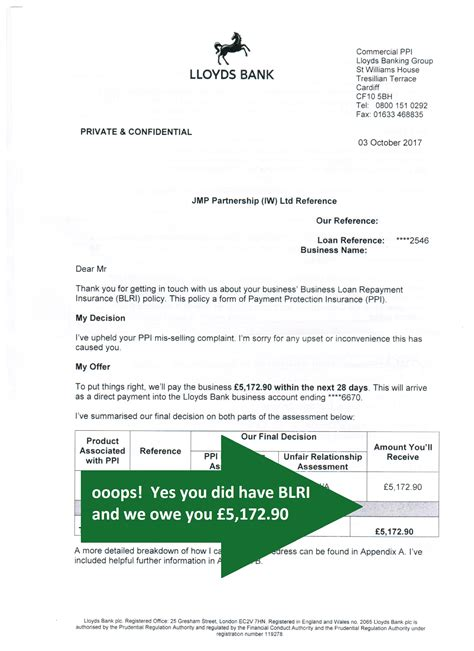 Letter Of Credit Lloyds Bank What Is Lloyds Cori And Blri Jmp Partnership