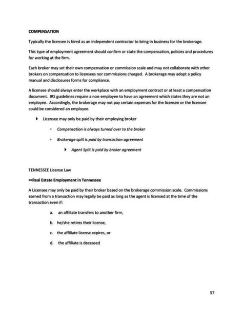 Commission Split Agreement Template Sletemplatess Sletemplatess Commission Split Agreement Template