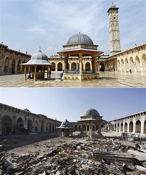syria before and after syria s heritage in ruins before and after pictures