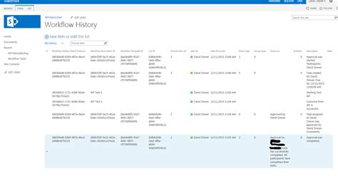 sharepoint workflow history list alternative method for sharepoint workflow history retention