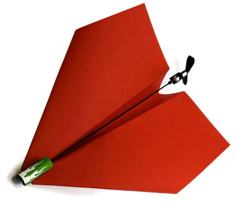 How To Make A Motorized Paper Airplane - power up propels paper planes