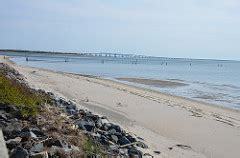 "scenic ""overlook"" after crossing the chesapeake bay bridge"