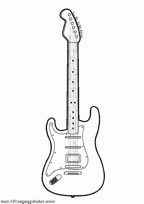 coloring pages guitar coloring pages guitar coloring home