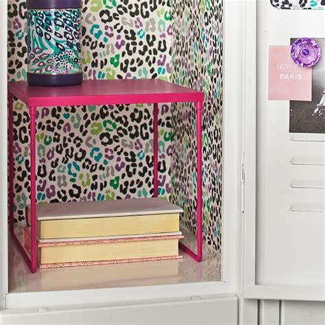 gear up pink magenta locker shelf pbteen