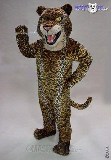 jaguar costume fierce jaguar deluxe size jaguar mascot costume