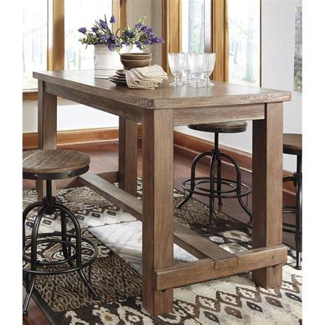 ashley pinnadel rectangular counter height dining table in ashley pinnadel rectangular counter height dining table in