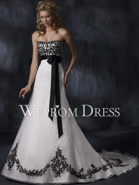 Hochzeitskleid Wei by Hochzeitskleid Schwarz Weiss