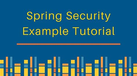 spring security exle tutorial journaldev