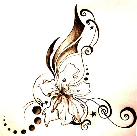 unique flower tattoo designs it is official this is my next i don t
