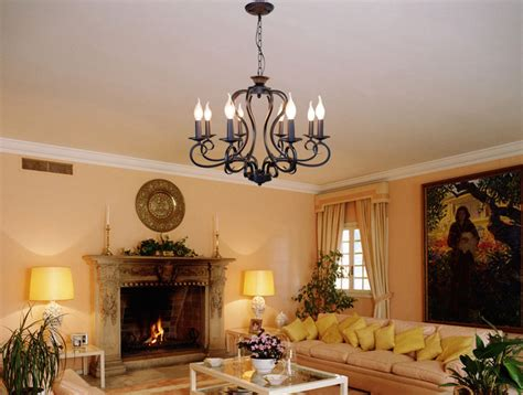 vintage wrought iron chandelier e14 black white rustic wrought iron chandelier e14 candle black vintage antique home chandeliers for
