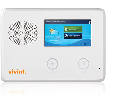 vivint support go touch screen panel