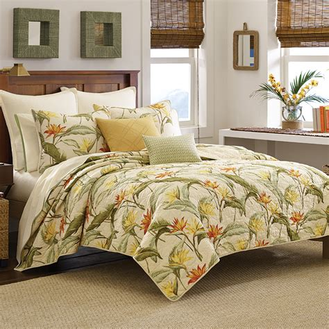 Quilt Set by Bahama Birds Of Paradise Quilt Set From Beddingstyle