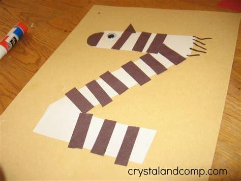 zebra crafts for gallery z is for zebra craft