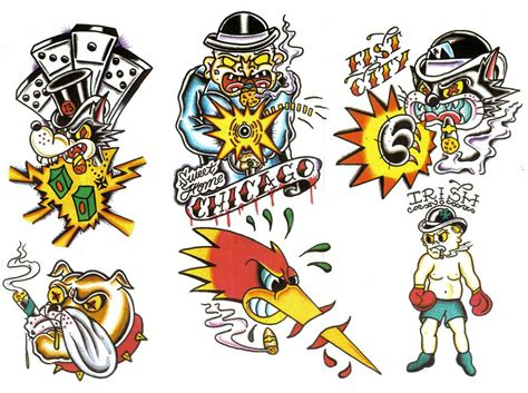 old school tattoo flash school gangster flash pictures to pin on