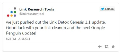 Link Detox One by Cemper Announces Nofollow Evaluation And Link Audit
