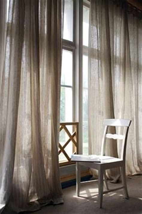 Floor To Ceiling Sheer Curtains by Floor To Ceiling Grey Linen Sheer Curtains Um Yes