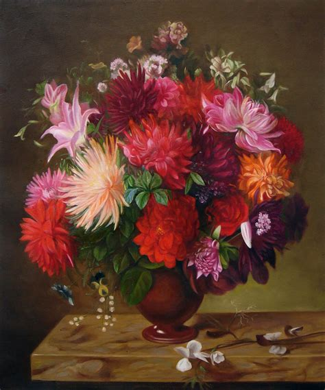 paintings of flowers flower wash flower painting full image