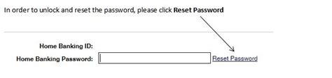 reset rbc online banking password online banking password reset freedom federal credit union