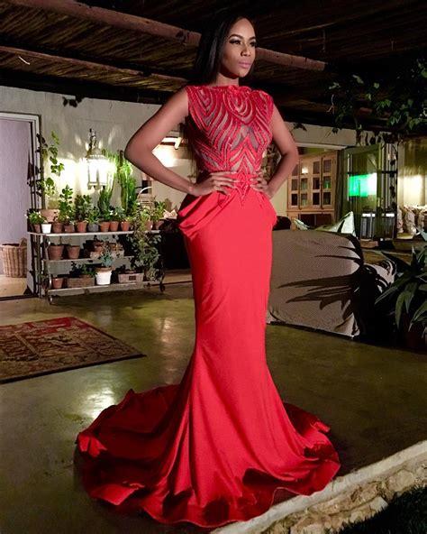 Dress Gsy 24 wedding glam 24 5 style inspirations from bonang matheba