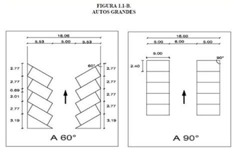cocheras medidas estacionamiento medidas medidas de cajones de