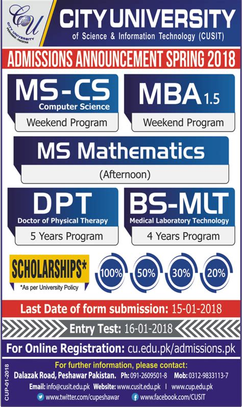 Mlt Mba Live by Admission In City Of Science And Information