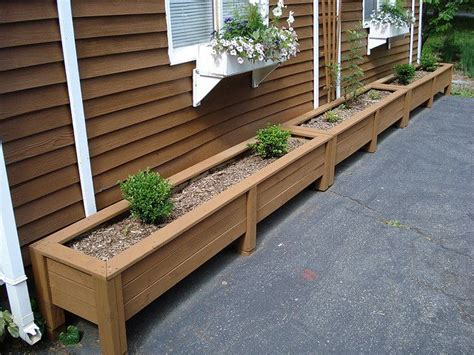 Building Planter Boxes by 17 Best Ideas About Planter Box Plans On Diy Planter Box Wooden Planter Boxes And