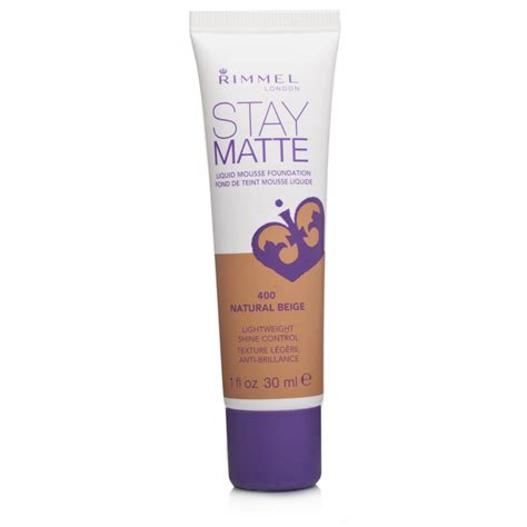Rimmel Foundation rimmel stay matte foundation beige 30ml chemist