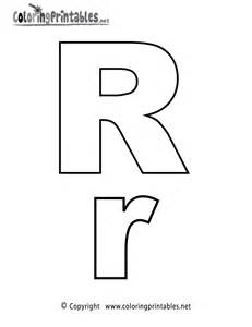 free printable alphabet letter r coloring page