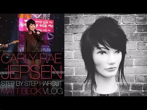 carly hairstyl wideo carly rae jepsen on ellen haircut step by step matt beck