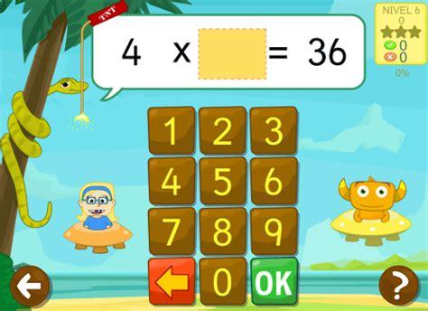 hacer preguntas de matematicas online juegos educativos para aprender las tablas de multiplicar