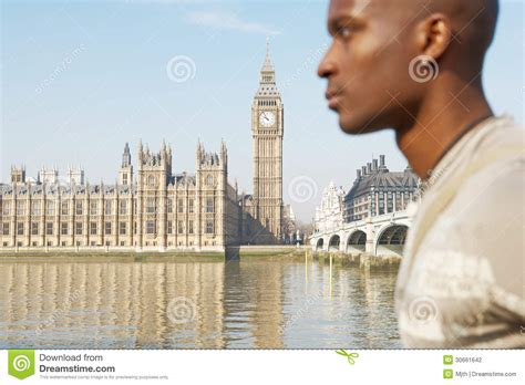 river thames zoom focus photography touist man on westminster stock photography image 30661642