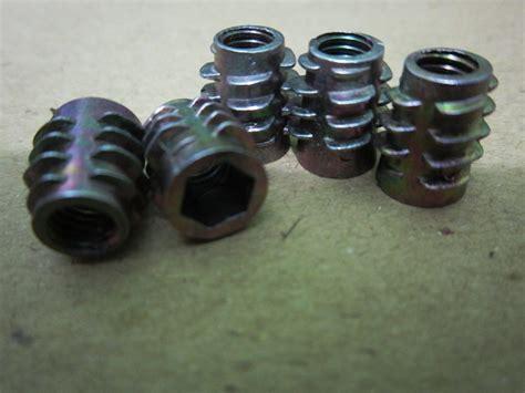 Nut Mur Baut M5 100pcs jual mur nanas 6mm untuk lemari meja toko sparepart