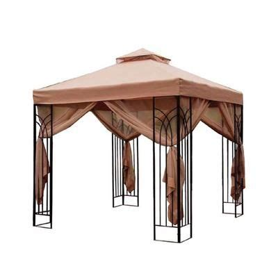 patio gazebo home depot the home depot patio cabin style gazebo 10 x 10