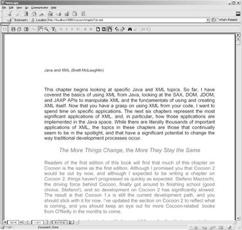 java with xml tutorial pdf using a publishing framework java xml 2nd edition