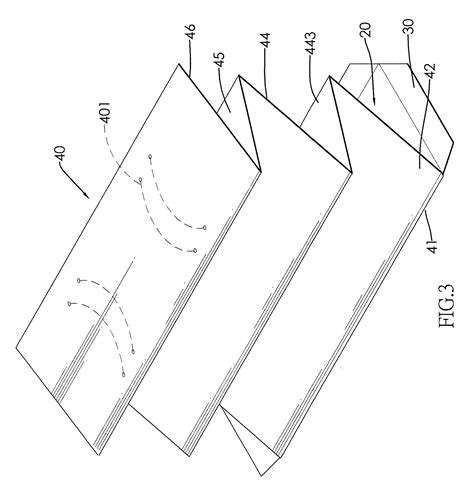 Paper Wallet Template by Patent Us20120312435 Foldable Cardboard Template And