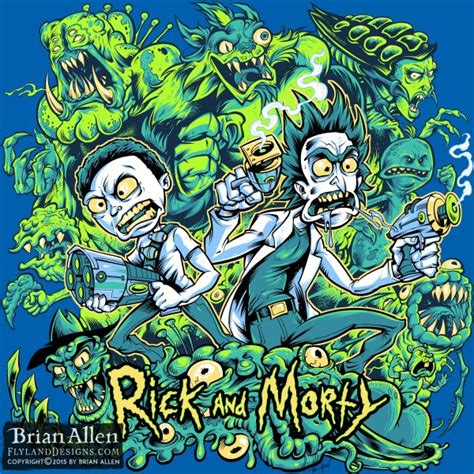 design by humans rick and morty 100 years rick and morty hire an illustrator