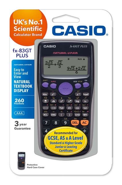 Casio Kalkulator Calculator Casio Fx Fx 50f Ii Fx 50f Ii casio fx 83gt plus scientific calculator whsmith