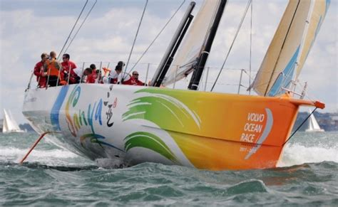 volvo race luxury yacht charter superyacht news