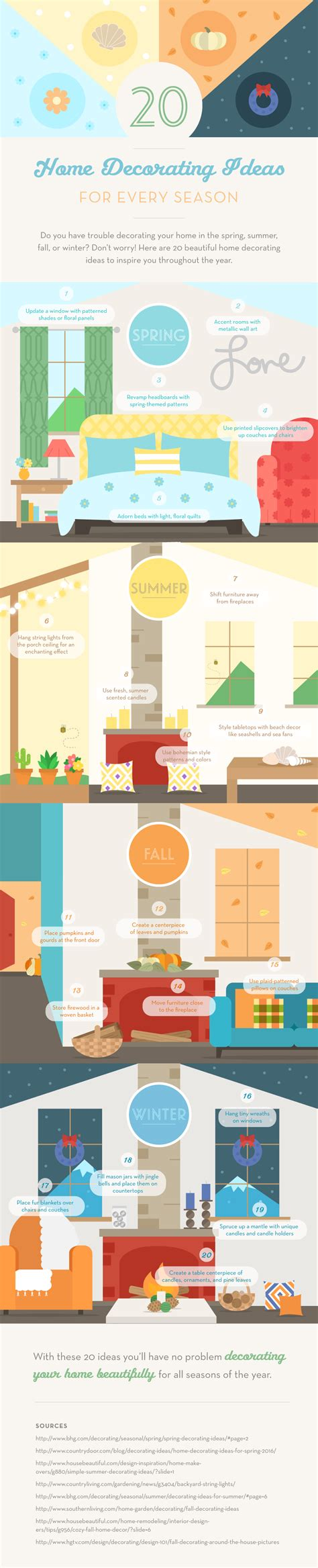 home decor infographic home decor ideas infographic house in the valley